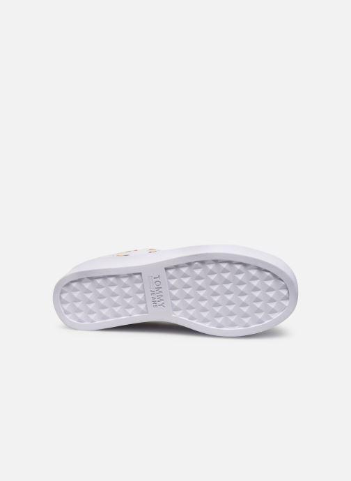 Sneakers Tommy Hilfiger SEASONAL ICON SNEAKER Bianco immagine dall'alto