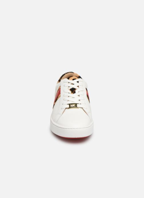Baskets Michael Michael Kors Irving Stripe Lace Up Blanc vue portées chaussures