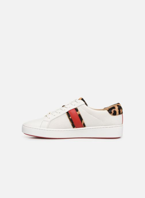 Sneakers Michael Michael Kors Irving Stripe Lace Up Wit voorkant