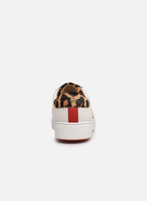 Sneakers Michael Michael Kors Irving Stripe Lace Up Wit rechts
