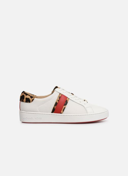 Sneakers Michael Michael Kors Irving Stripe Lace Up Wit achterkant