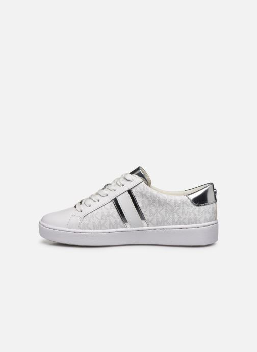 Sneakers Michael Michael Kors Irving Stripe Lace Up Bianco immagine frontale
