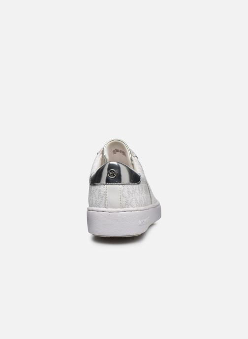 Sneakers Michael Michael Kors Irving Stripe Lace Up Bianco immagine destra