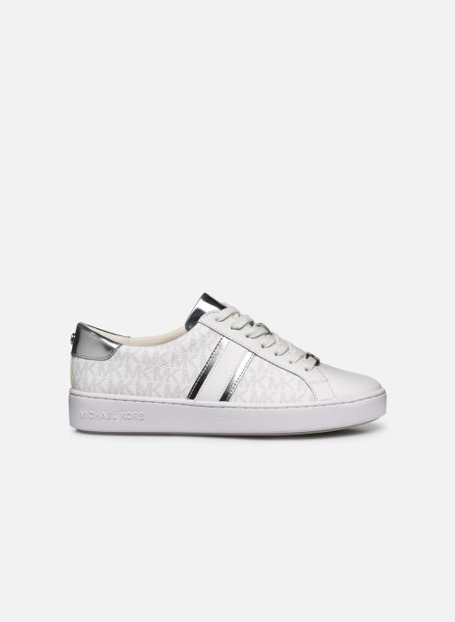 Sneakers Michael Michael Kors Irving Stripe Lace Up Bianco immagine posteriore