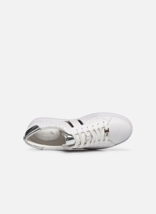 Sneakers Michael Michael Kors Irving Stripe Lace Up Bianco immagine sinistra