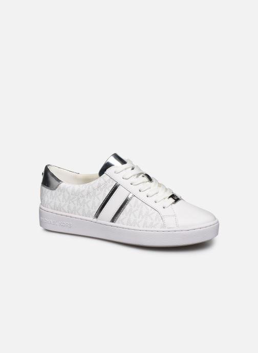 Sneakers Michael Michael Kors Irving Stripe Lace Up Bianco vedi dettaglio/paio