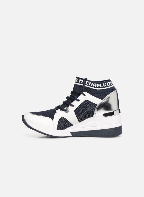 Sneakers Michael Michael Kors Hilda Trainer Blauw voorkant