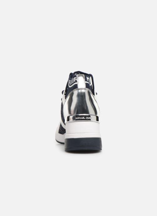 Sneakers Michael Michael Kors Hilda Trainer Blauw rechts