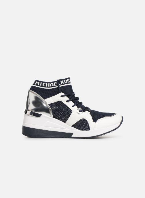Sneakers Michael Michael Kors Hilda Trainer Blauw achterkant