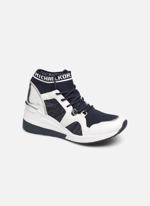 Baskets Michael Michael Kors Hilda Trainer Bleu vue détail/paire
