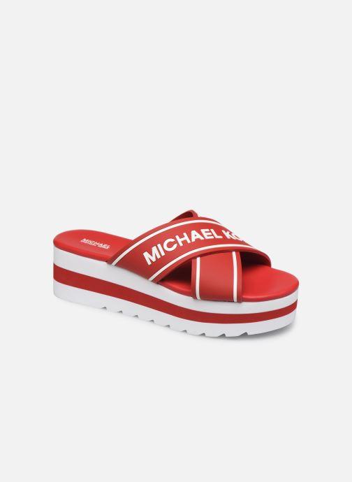 Mules et sabots Michael Michael Kors Demi Sport Sandal Rouge vue détail/paire
