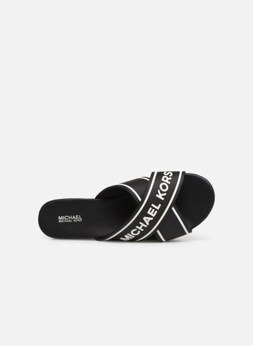 Mules et sabots Michael Michael Kors Demi Sport Sandal Noir vue gauche