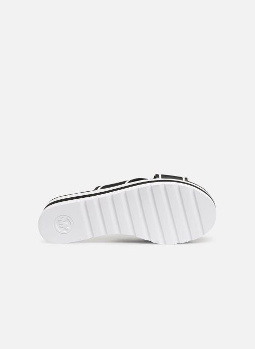 Zuecos Michael Michael Kors Demi Sport Sandal Negro vista de arriba