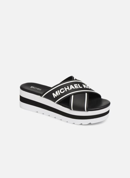 Clogs & Pantoletten Michael Michael Kors Demi Sport Sandal schwarz detaillierte ansicht/modell