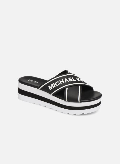 Mules et sabots Michael Michael Kors Demi Sport Sandal Noir vue détail/paire