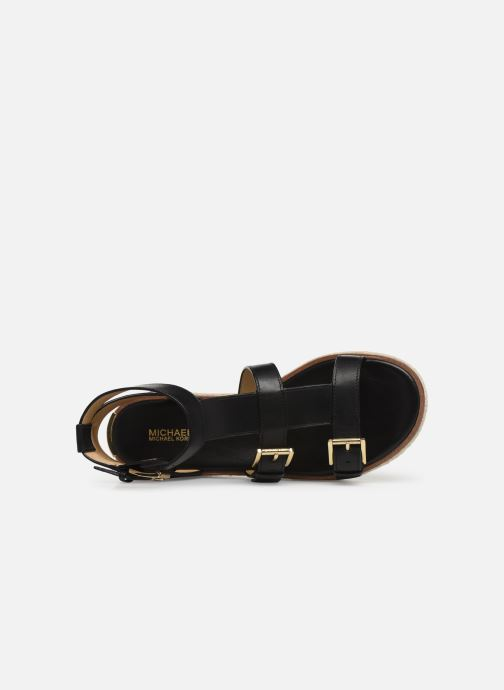 Espadrilles Michael Michael Kors Cunningham Sandal Noir vue gauche