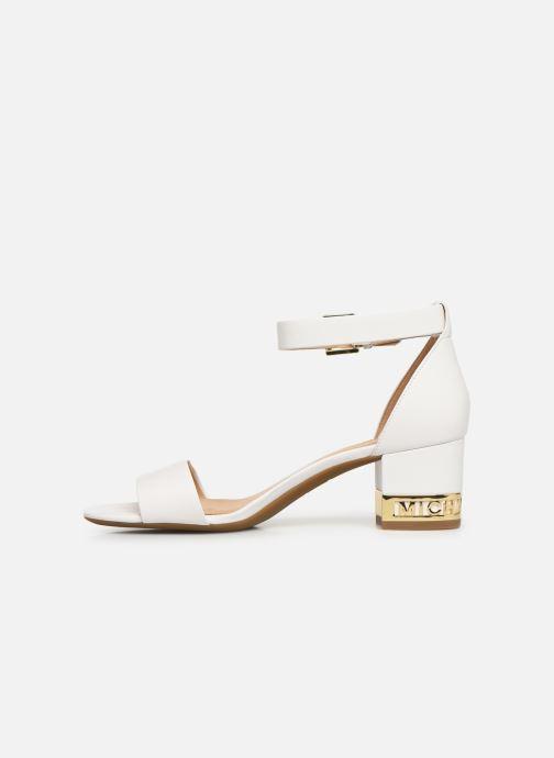 Sandales et nu-pieds Michael Michael Kors Portia Blanc vue face