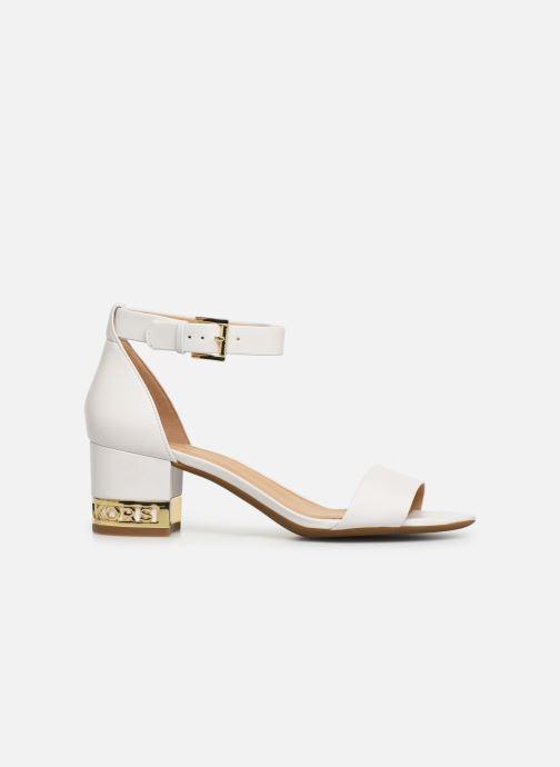 Sandales et nu-pieds Michael Michael Kors Portia Blanc vue derrière
