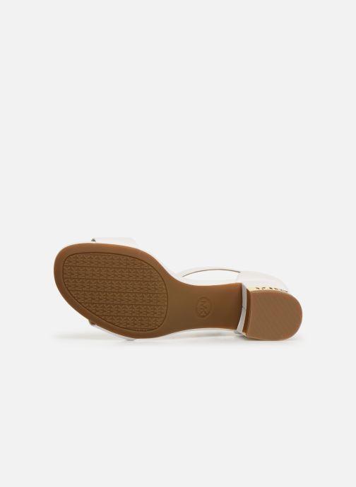 Sandales et nu-pieds Michael Michael Kors Portia Blanc vue haut
