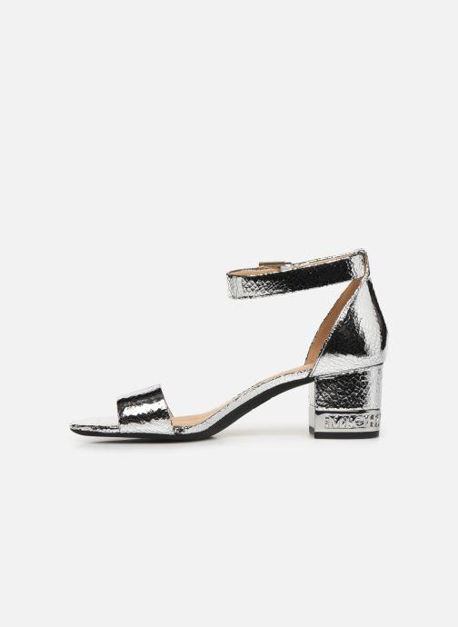Sandales et nu-pieds Michael Michael Kors Portia Argent vue face