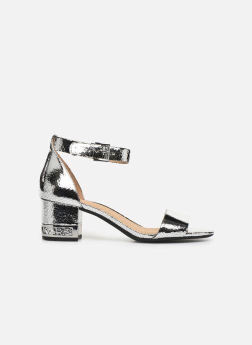 Sandales et nu-pieds Michael Michael Kors Portia Argent vue derrière