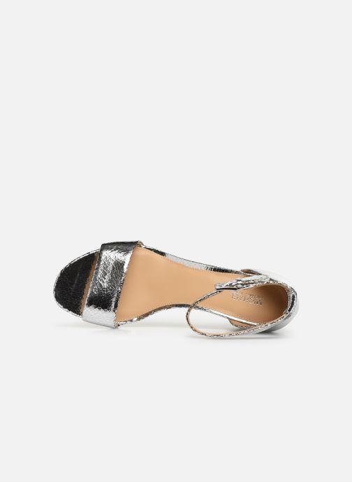 Sandales et nu-pieds Michael Michael Kors Portia Argent vue gauche