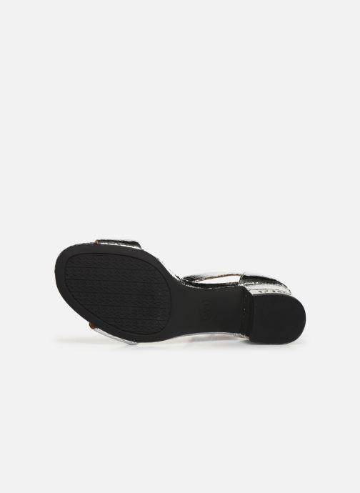 Sandales et nu-pieds Michael Michael Kors Portia Argent vue haut