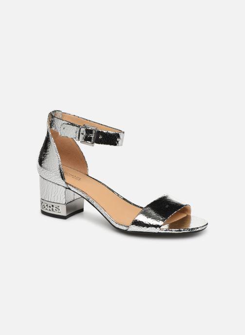 Sandales et nu-pieds Michael Michael Kors Portia Argent vue détail/paire