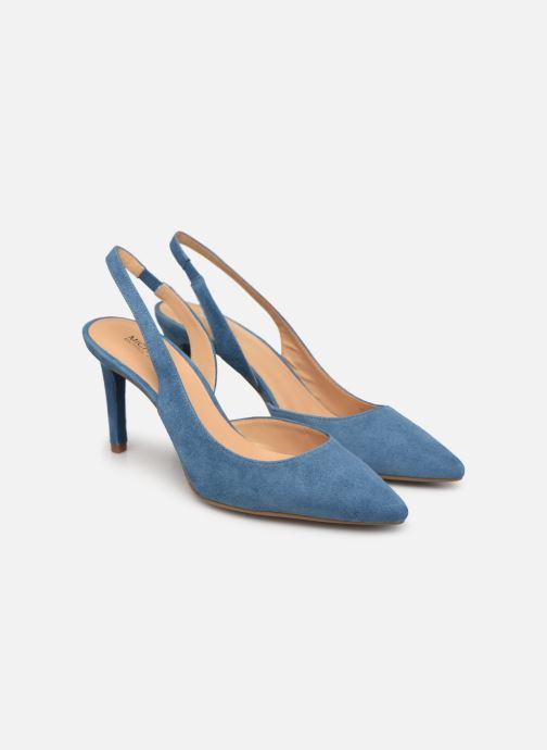 Zapatos de tacón Michael Michael Kors Lucille Flex Sling Azul vista 3/4