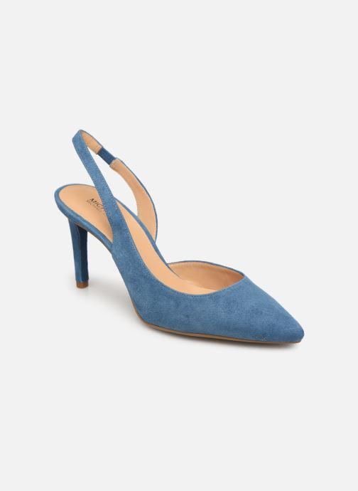 Zapatos de tacón Michael Michael Kors Lucille Flex Sling Azul vista de detalle / par