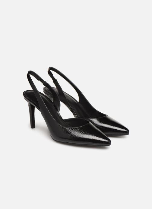 Zapatos de tacón Michael Michael Kors Lucille Flex Sling Negro vista 3/4