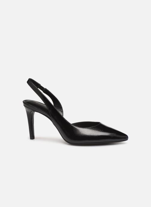 Zapatos de tacón Michael Michael Kors Lucille Flex Sling Negro vistra trasera