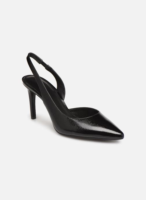 Zapatos de tacón Michael Michael Kors Lucille Flex Sling Negro vista de detalle / par