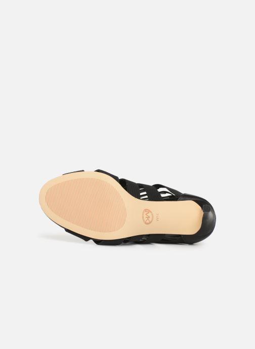 Sandales et nu-pieds Michael Michael Kors Margaret Open Toe Noir vue haut