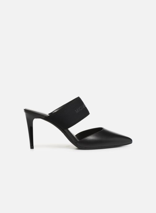 Zuecos Michael Michael Kors Meadow Flex Closed Toe Negro vistra trasera