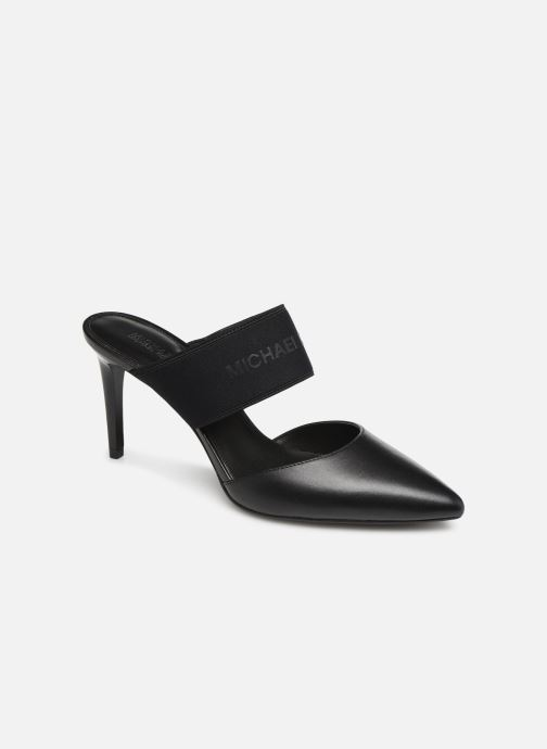 Zuecos Michael Michael Kors Meadow Flex Closed Toe Negro vista de detalle / par