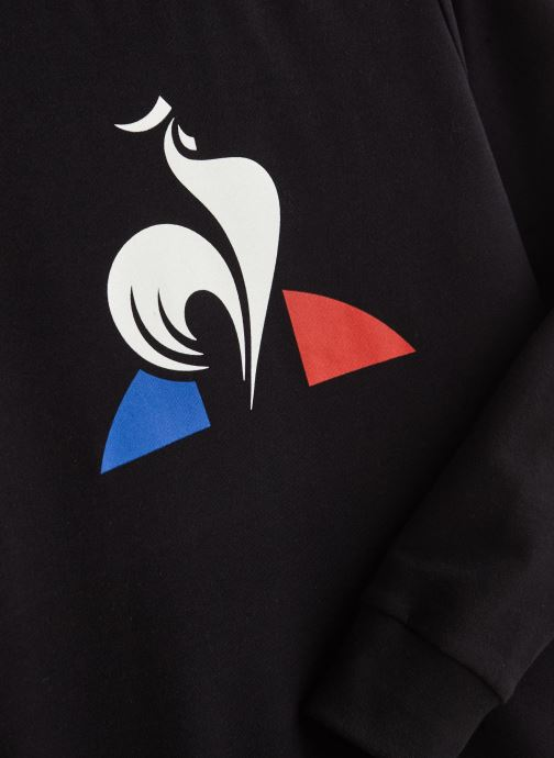 Kleding Le Coq Sportif ESS Crew Sweat N°2 JUNIOR Zwart model