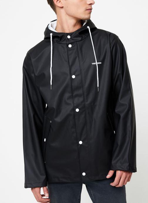 Vêtements Tretorn WINGS SHORT RAIN JACKET Noir vue détail/paire