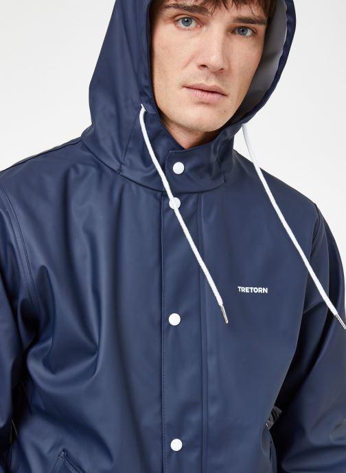 Vêtements Tretorn WINGS SHORT RAIN JACKET Bleu vue détail/paire