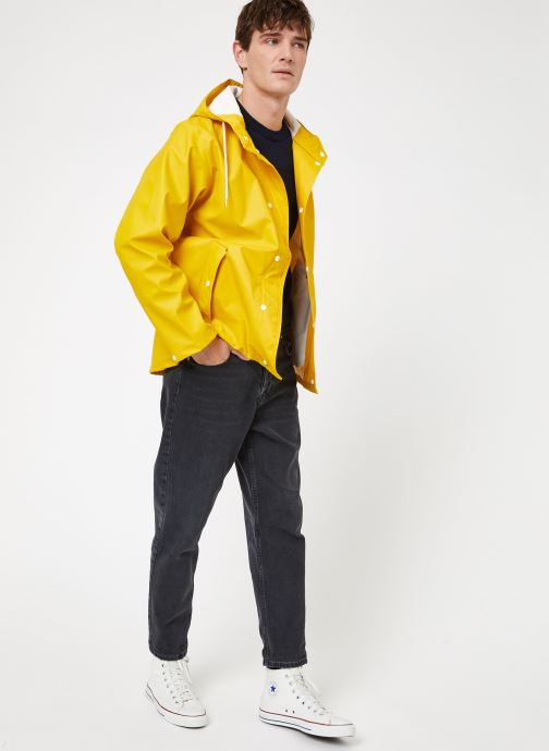 Vêtements Tretorn WINGS SHORT RAIN JACKET Jaune vue bas / vue portée sac