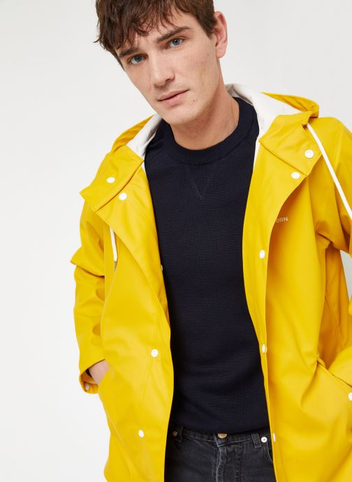 Vêtements Tretorn WINGS SHORT RAIN JACKET Jaune vue détail/paire