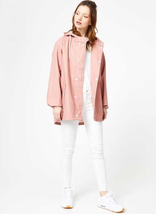 Tøj Tretorn WINGS SHORT RAIN JACKET W Pink se forneden