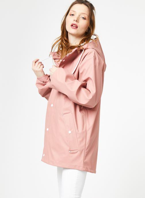 Tøj Tretorn WINGS SHORT RAIN JACKET W Pink Se fra højre