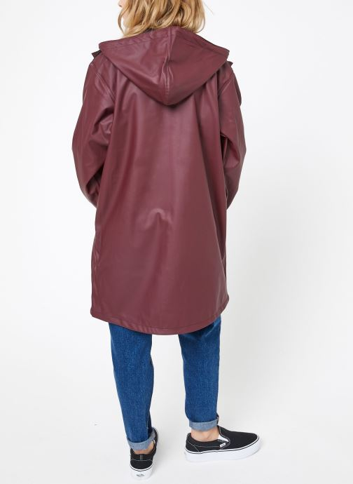 Kleding Tretorn WINGS PLUS RAIN JACKET W Bordeaux model