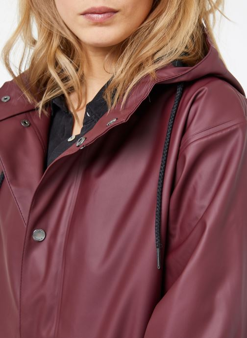 Kleding Tretorn WINGS PLUS RAIN JACKET W Bordeaux voorkant