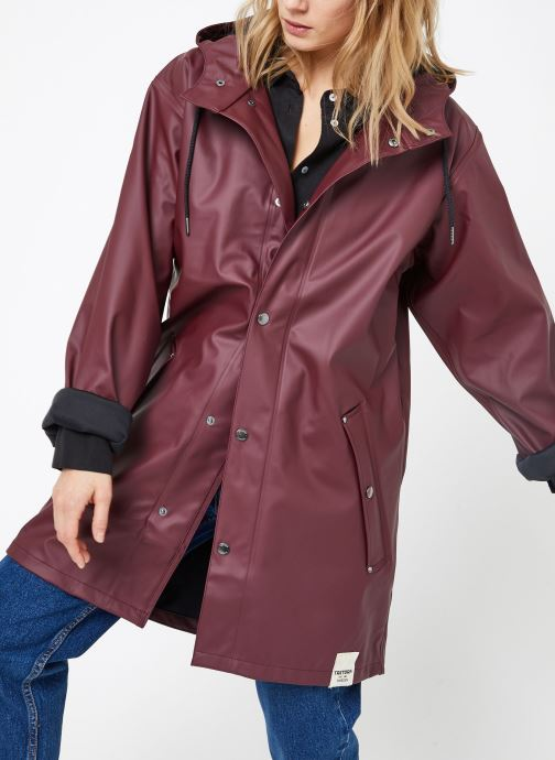Kleding Tretorn WINGS PLUS RAIN JACKET W Bordeaux rechts