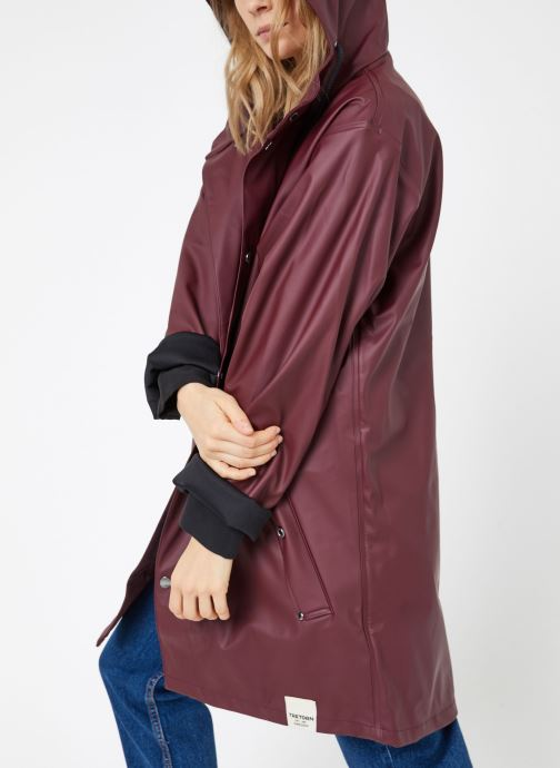 Kleding Tretorn WINGS PLUS RAIN JACKET W Bordeaux detail