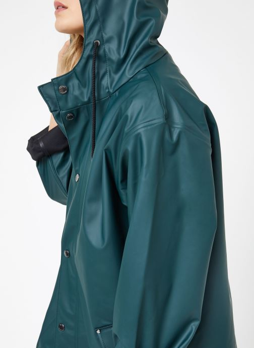 Kleding Tretorn WINGS PLUS RAIN JACKET W Groen detail