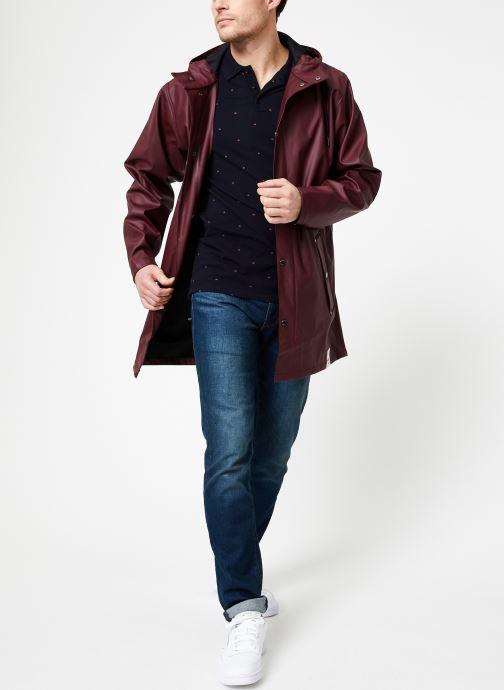 Vêtements Tretorn WINGS PLUS RAIN JACKET Bordeaux vue bas / vue portée sac