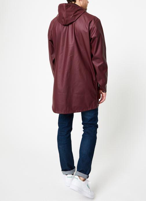 Vêtements Tretorn WINGS PLUS RAIN JACKET Bordeaux vue portées chaussures